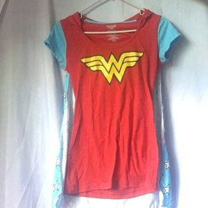 PLAY WITH YOUR KIDS!  Wonder Woman T w/ cape